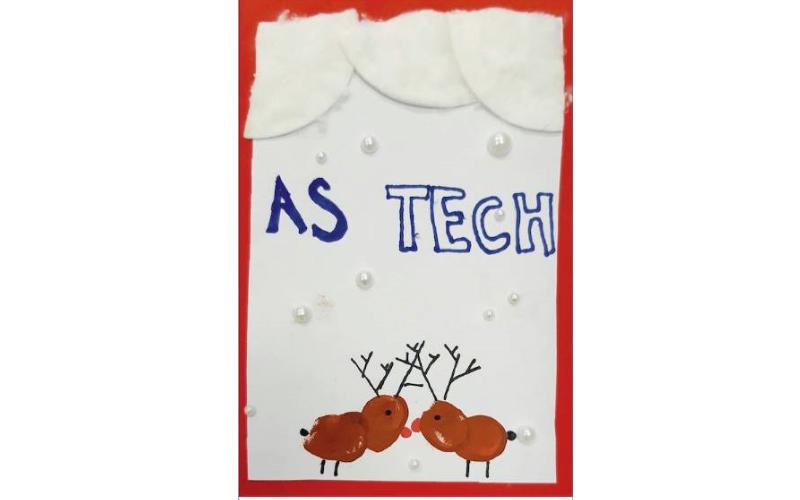 Astech voščilnica