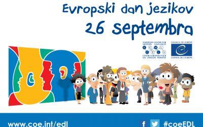 Evropski dan jezikov 2021/22 – 26.09.2021- OŠ Idrija